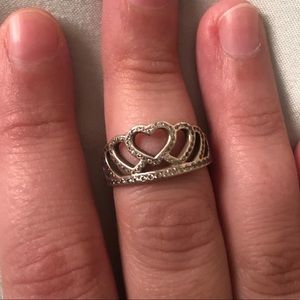 Pandora my Princess Tiara Ring Size 5